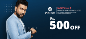 Gonoise Exclusive Offer: Get Flat Rs.500 OFF on Order Above Rs.4,000