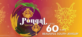 Pongal Special: Up to 60% OFF On Beautiful South Jewellery