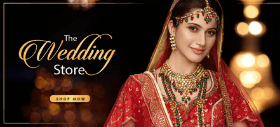Wedding Sale: Get Minimum 30% OFF + Extra 20% OFF on Necklace Sets